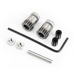 Details about 3D Printer Gear Kit Set Accessories Cloned Extrusion Wheel  For Prusa i3 MK2 MK3