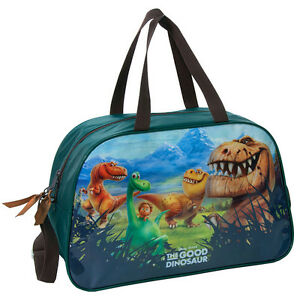 The-Good-Dinosaur-Gym-Bag-Duffle-School-Sports-Dance-PE-Swim-Travel-Boys-Green