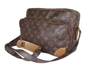 LOUIS-VUITTON-Vintage-Nile-Monogram-Canvas-Crossbody-Shoulder-Bag-LS2965