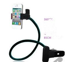 Soporte UNIVERSAL PARA MOVIL smartphone SAMSUNG IPHONE CON PINZA EN MESA CAMA