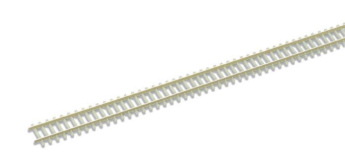 Peco SL-302F - 30.5x91.4cm Lunghezze Concrete Letto Flessibile Scartamento N