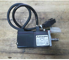 Used Mitsubishi AC Servo Motor Model: HC-MF053D-UE, 50W Output, 3000r/ min #E-QZ