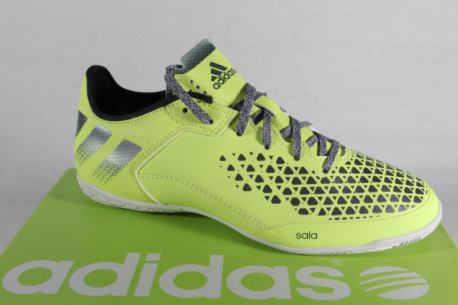 Adidas Men's Lace-Up shoes Sneakers Trainers Ace 16.3 Court Yellow NEW