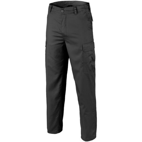 Brandit US Ranger Patrol Combats Guard Security Police Trousers Mens Pants Black