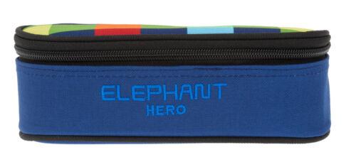 Mäppchen Box Elephant Faulenzer Etuibox Mädchen Jungen 12607 Hero Multi Plaid s