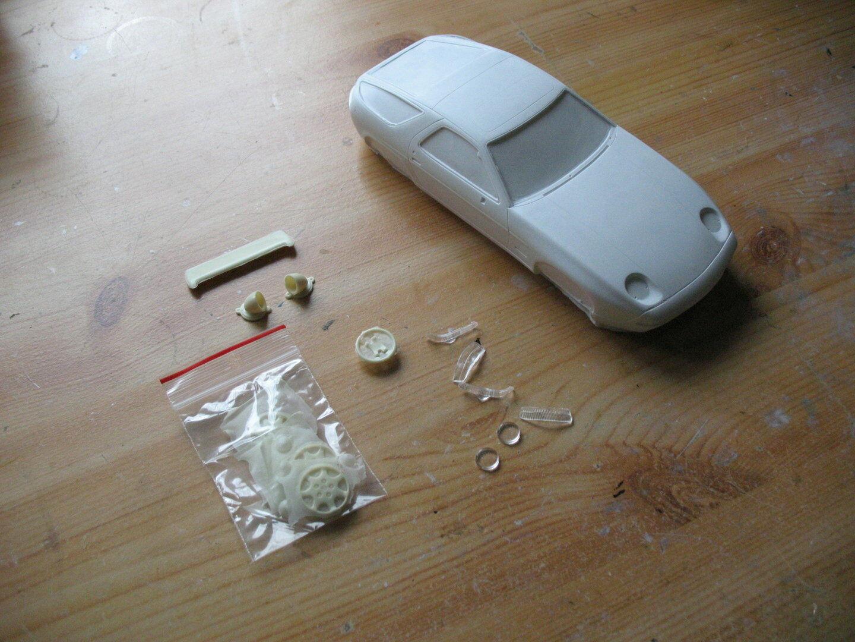 1 24 Porsche 928 S4,GFK Kit