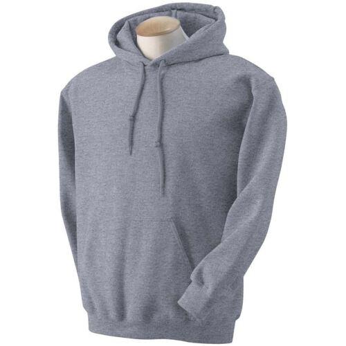 Gildan adult heavy blend plain hoodie jumper top-s m l xl 2xl