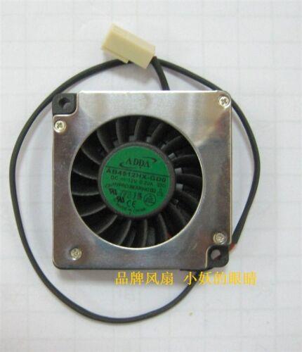 ADDA AB4512HX-GD0 4510 12V 0.20A turbo blower centrifugal fan 2PIN #M3477 QL