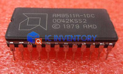 1PCS AMD AM9511 AM9511A-1DC Vintage Arithmetic Logic Processor IC CDIP24