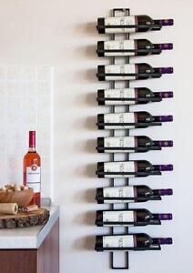 Weinregal 8 Flaschen//Gläser Metall Flaschenregal Flaschenständer Weinschrank DHL