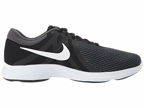 080c0bac932ee Nike Revolution 4 Lightweight Running Shoe 11.5 Black   White for sale  online