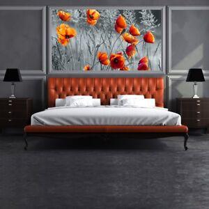 Red poppy flower wall mural black white photo wallpaper bedroom image is loading red poppy flower wall mural black amp white mightylinksfo