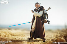 "Sideshow Obi-Wan Kenobi Star Wars Mythos 1/6 Scale 12"" Collectibles Figure"