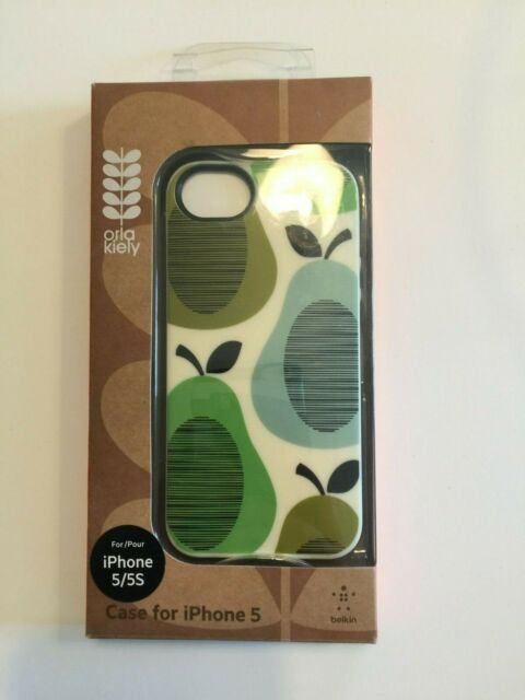 on sale 92b88 47d87 Belkin Orla Kiely Green Blue Pears Cell Phone Case for iPhone 5/5s
