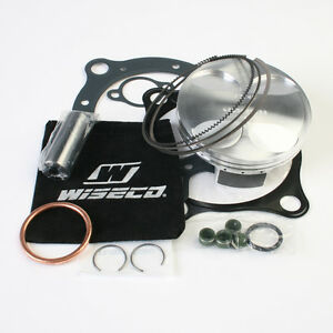wiseco honda crf450r crf450 crf 450 450r piston kit top end 96mm 12 5 1 02 08. Black Bedroom Furniture Sets. Home Design Ideas