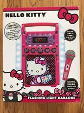 Hello Kitty Flashing Lights Karaoke Machine [BA]