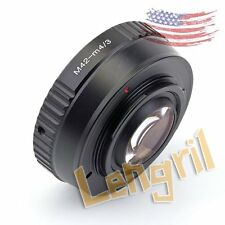 US Camera Speed Booster Focal Reducer For M42 Lens to Micro 4/3 m43 EPL6 GX7 GF5