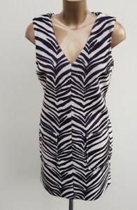 c15484878e Image is loading NEW-Dorothy-Perkins-Black-White-Zebra-Animal-Print-