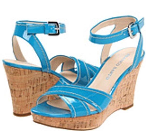 New Franco Sarto Crave  celecte patent women's shoes size 9.5