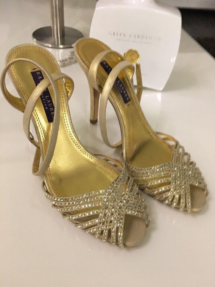 Ralph Lauren Couture High Heels - Neu    Swarovski Kristalle