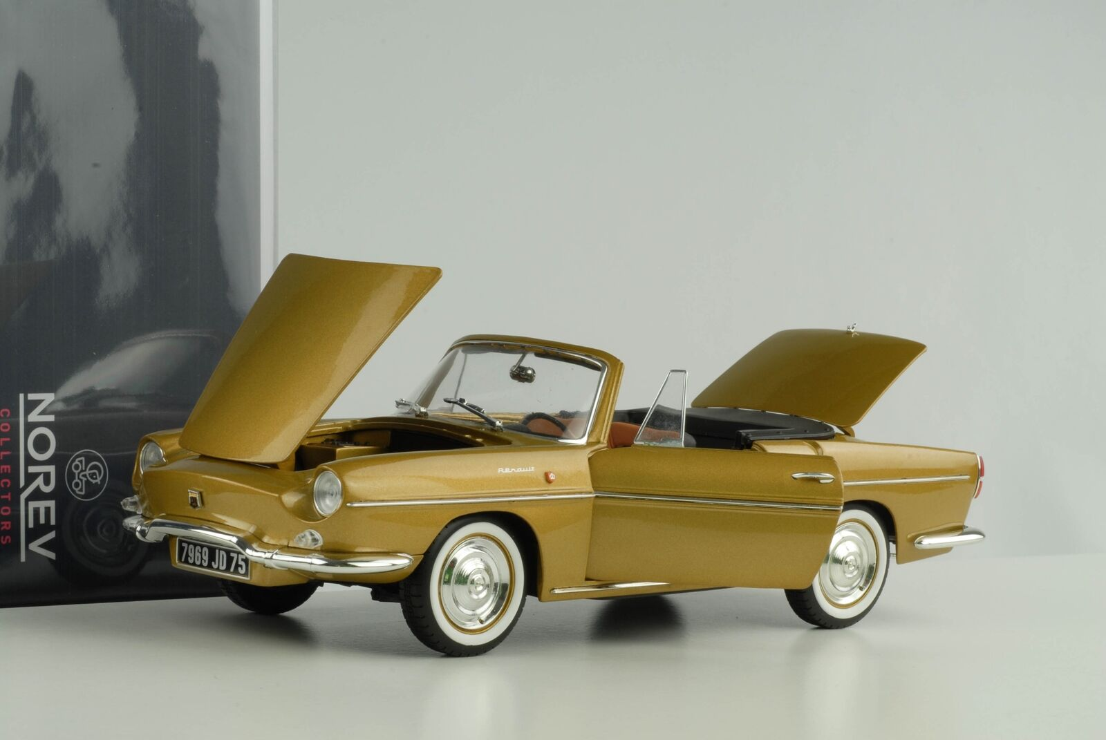 Renault − with Roof 1959 Bahama jaune 1 18 Norev  Diecast 185182  réductions incroyables