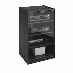 Details About Video Component Stand Tv Audio Stereo Cabinet Media Entertainment Center 4 Shelf