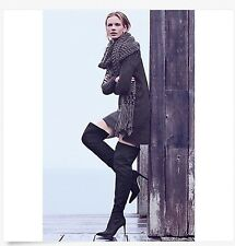 Sam Edelman Bernadette Black Suede Over the Knee Boot Women Size 7