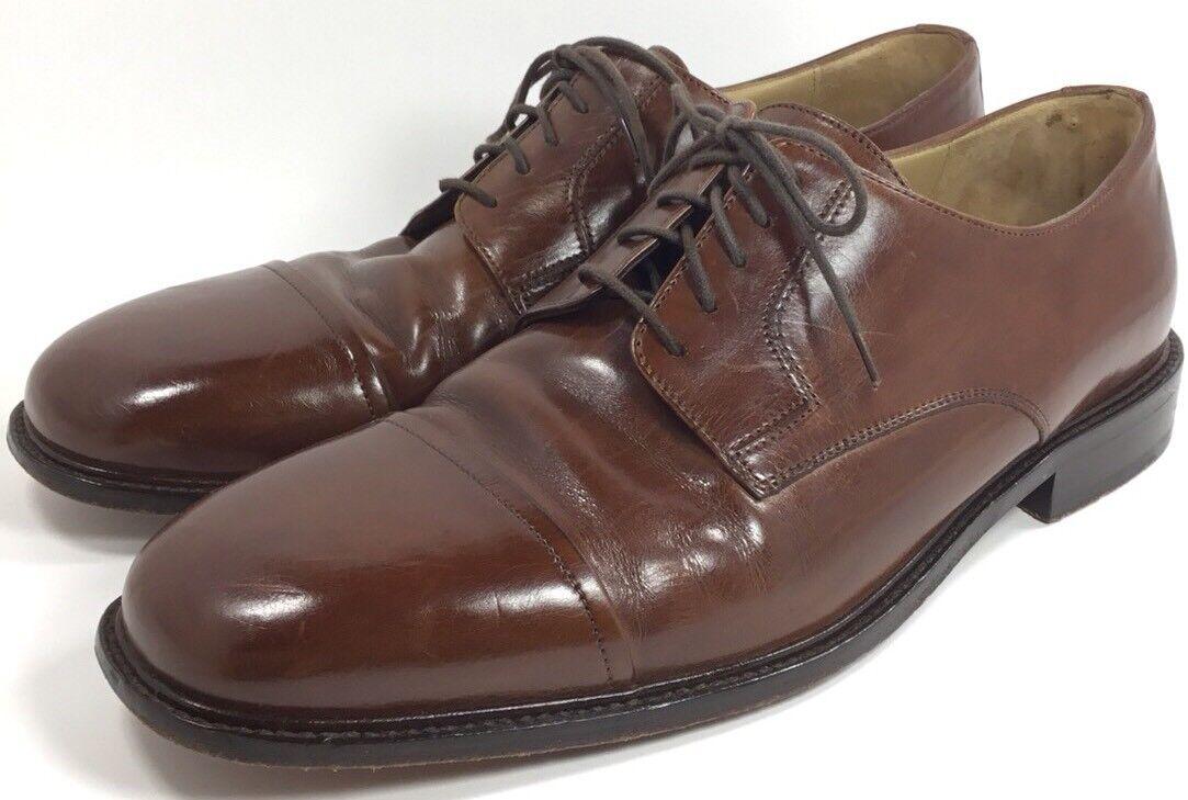 J Shoes Murphy Mens Shoes J 9.5M Brown Leather India 281e3e