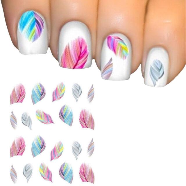 Mesdames printemps Design Nail Sticker Nail Sticker Nail Art Tattoo Nail Sticker