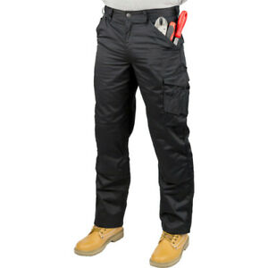 Mens-Cargo-Heavy-Duty-Work-Trousers-Combat-Pockets-Casual-Pants-Multi-Pocket