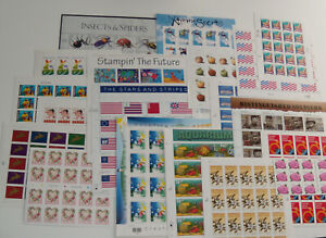 Four (4) Sheets x 20 = 80 Assorted of Mixed Designs of 33¢ US PS Postage Stamps