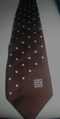 Vintage Breite 70er Krawatte Polyester, Polka Dot ,marke Berliner Chic,top Durchblutung GläTten Und Schmerzen Stoppen