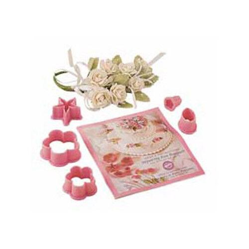 Wilton Step-Saving Rose Bouquet Flower Cutter set PACK of 6