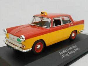 1-43-AUSTIN-CAMBRIDGE-HONG-KONG-1964-TAXI-IXO-CAR-ESCALA-DIECAST