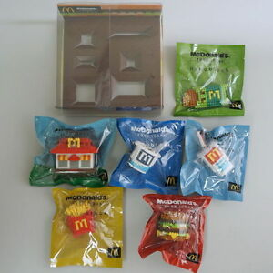 authentic nanoblock x mcdonald s food icon set of 6 with