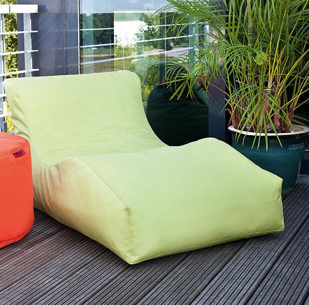 Outbag saco para sentarse Wave plus resistente a la intemperie outdoor en 6 Colors