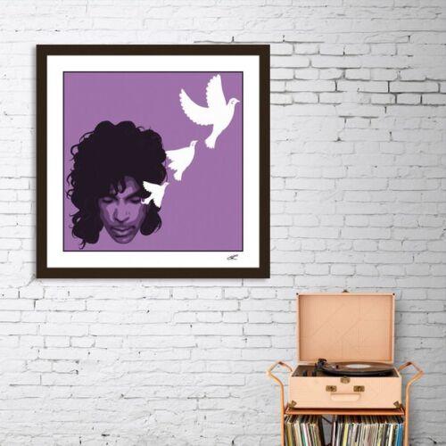 Prince Pop Art Signed Limited Edition Giclée Fine Art Print by John Lathrop