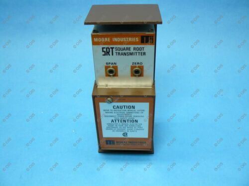 Details about  /Moore SRT//4-20MA//4-20MA//117AC//STD Differential Pressure Square Root Transmitter