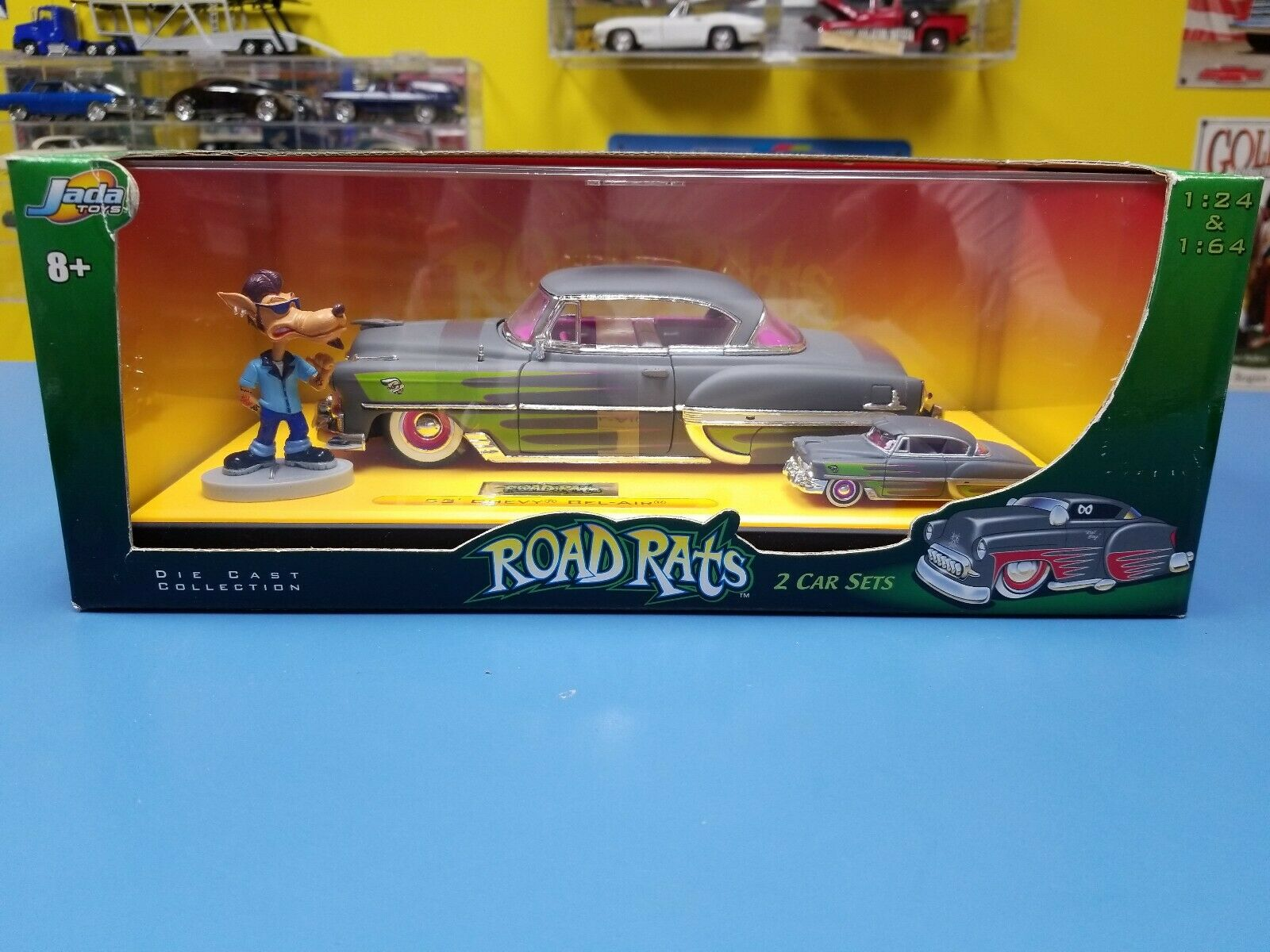 Jada Road Rats' 53 CHEVY BEL AIR 2 VOITURE Set  NEW