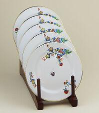Set of 2 Bread Plates NEAR MINT! Vignaud, Limoges France, VIG41, Butterflies