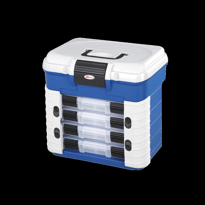 Valigetta superbox plastica panaro sedia porta minuteria spaziosa e leggera