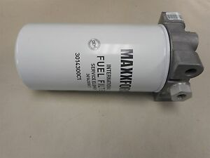 details about 3008305c93 international truck maxxforce engine fuel filter with head 3014300c1  maxforce engine fuel filter #2