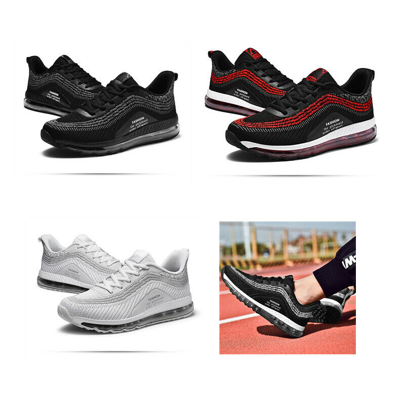 Men's Fashion Mesh Breathable Running Athletic Sneakers shoes Casual Outdoor New
