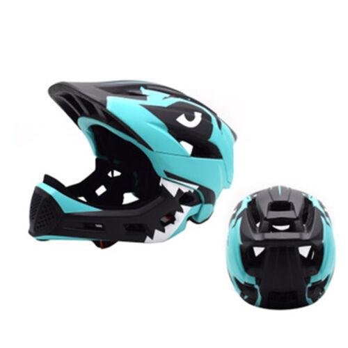 Children Bicycle Helmet Detachable Full Face Bike Helmet Child Cycling Helmets