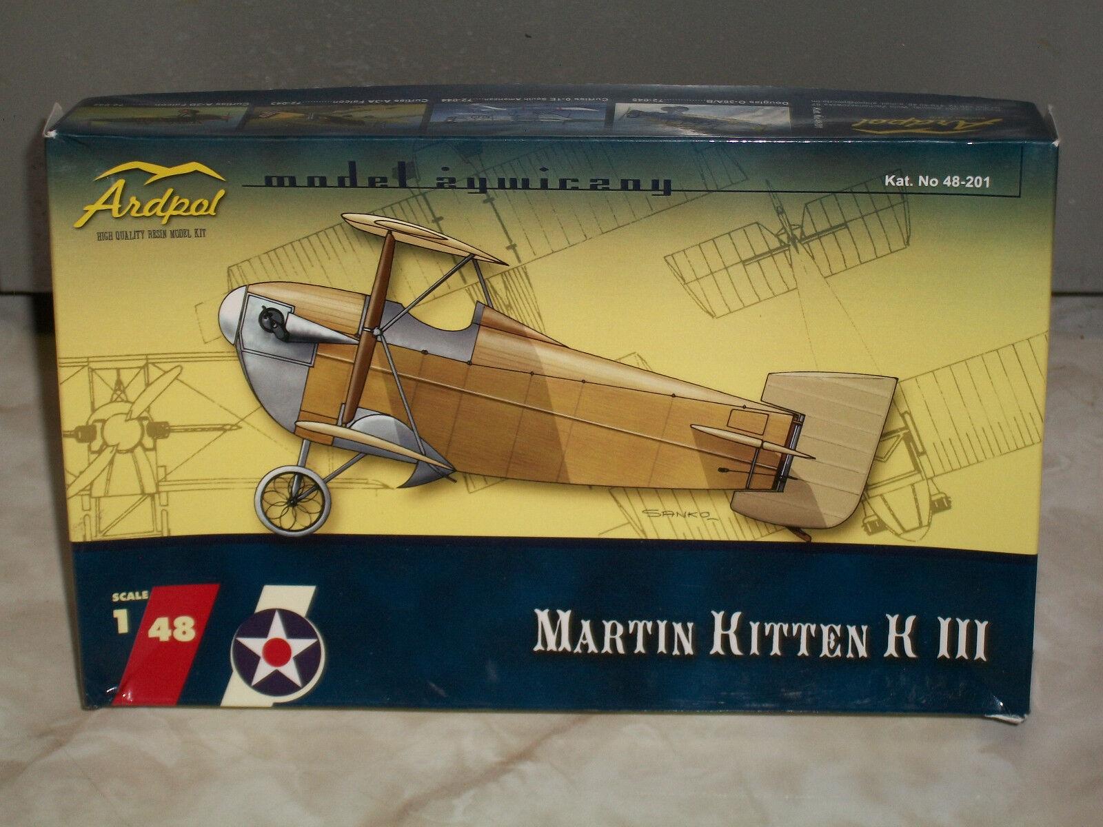 Ardpol 1 48 Scale Resin Martin Kitten K III