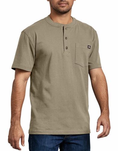 Dickies WS451 Short Sleeve Heavyweight Henley T-Shirt
