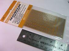 Perf Board 24 Posn Single Side Solder Pads 2 38 X 4 1 Spacing Cg 22 500 Nos