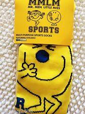 MENS KNEE HI MR MEN MISCHIEF QUALITY SKI SKIING FOOTBALL WELLY SPORT BOOT SOCKS