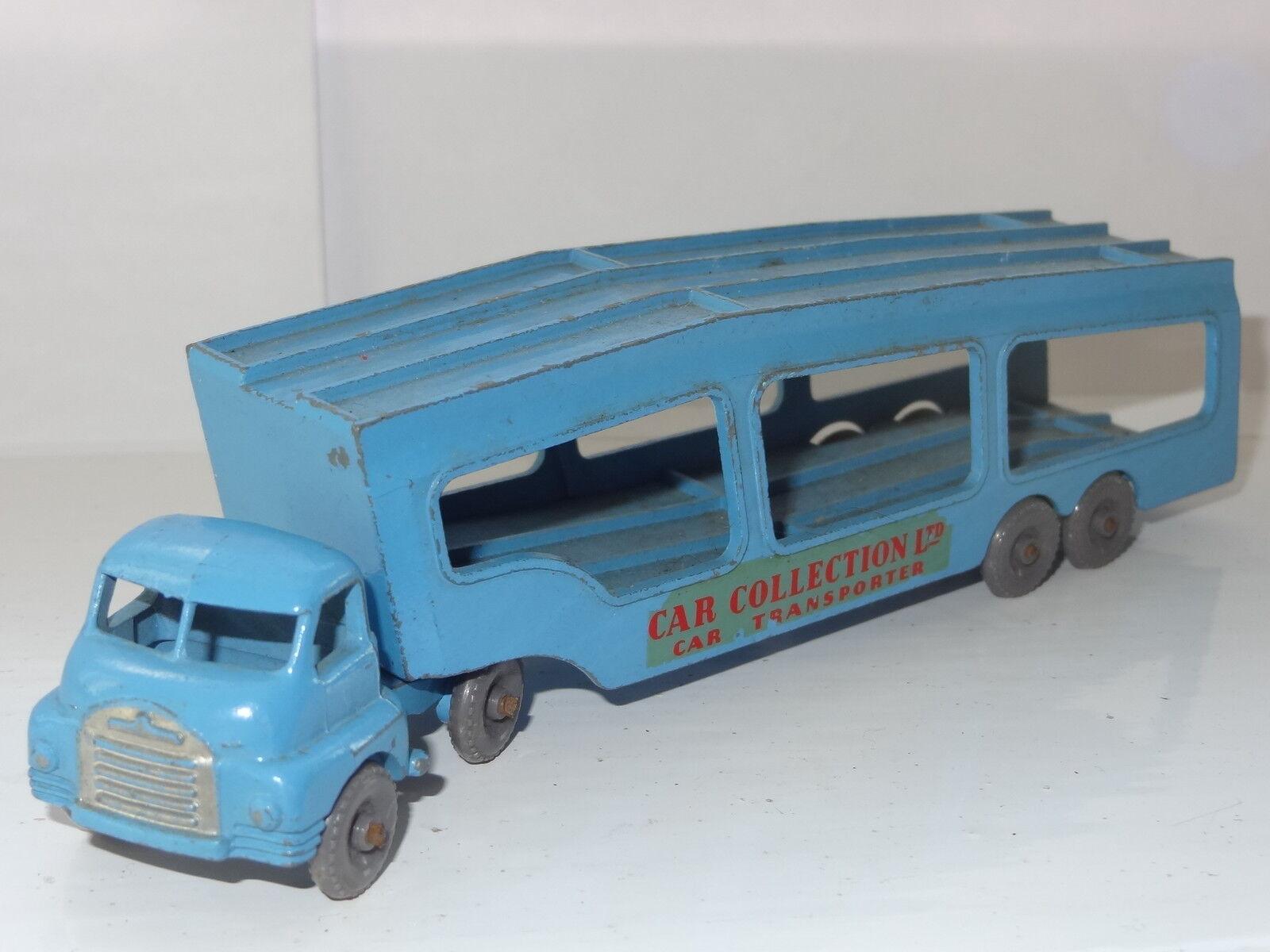 Matchbox lesney auto transporter - a2 seltenen roten aufkleber