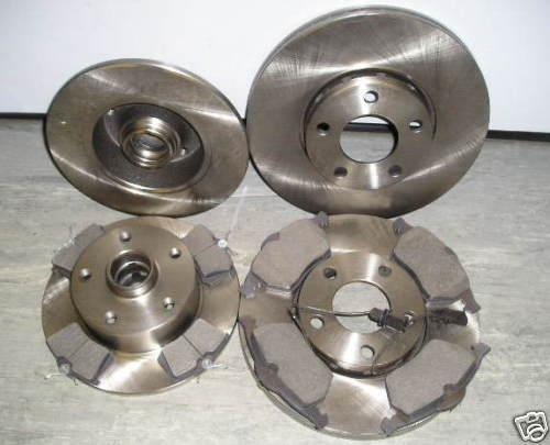 1996-2001 AUDI A4 1.9 2.5Tdi FRONT AND REAR BRAKE DISCS AND PADS O.E QUALITY
